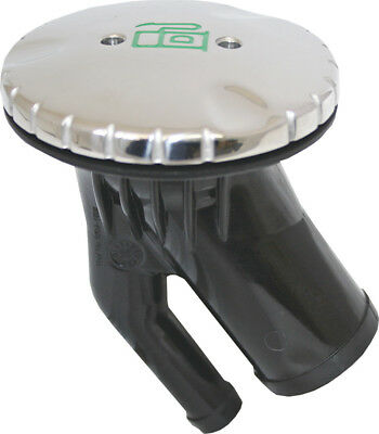 Deck Filler Angled Stainless Diesel for Boat 38mm or 1 1/2' Built in Breather