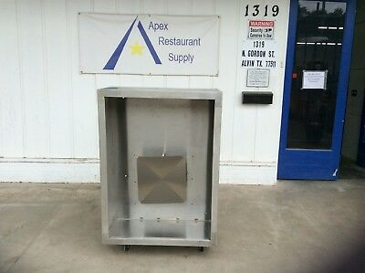 "48"" 4ft Commercial Vent Hood Restaurant Exhaust Hood System #3119"