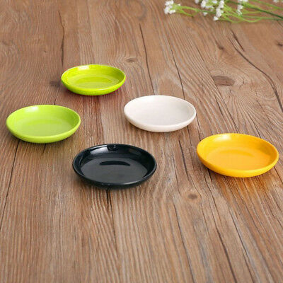 K_Durable Melamine Small Round Sushi Sauce Dip Spices Dish Bowl Party Dinnerware