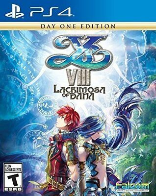 Ys VIII: Lacrimosa Of DANA (Day one Edition) for Sony PlayStation 4 PS4 PRO NEW