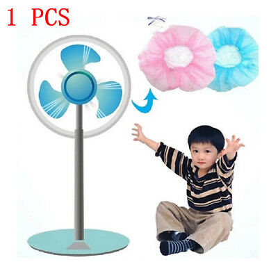 Baby Finger Protector Safety Mesh Nets Cover Fan Guard Dust Cover For Kids 1Pc