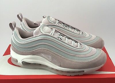 designer fashion 758fd 87655 W Nike Air Max 97 17 LX Ultra AH6805-002 Vast Grey Particle Rose Pink