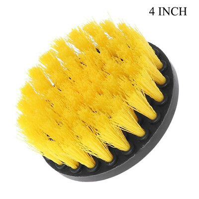 4'' Inch Car Grout Power Scrub Cleaning Drill Brush For Wheel Seat Cleaner Combo