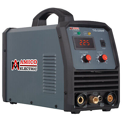 TIG-220 Amp TIG Torch Stick ARC DC Welder 115/230V Dual Voltage Welding