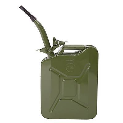 5 Gal 20L Emergency Fuel Can Jerry Can Gas Caddy Tank Gasoline Gas Backup