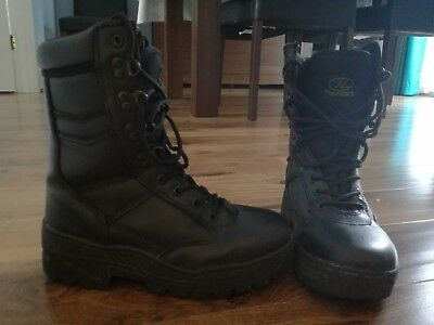 Black Pro Force Delta Army Cadet Boots / size 3 / Exclnt condition / unisex