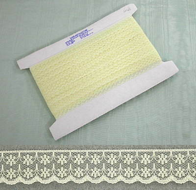 Flat Lace Lemon - 20 metres (133)