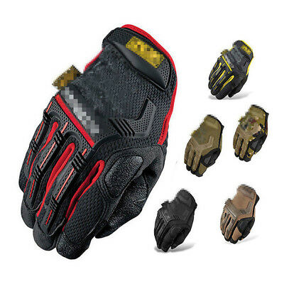 Tactical Mechanics Gloves Men's Army Military Assault SWAT Hunting Shooting Duty