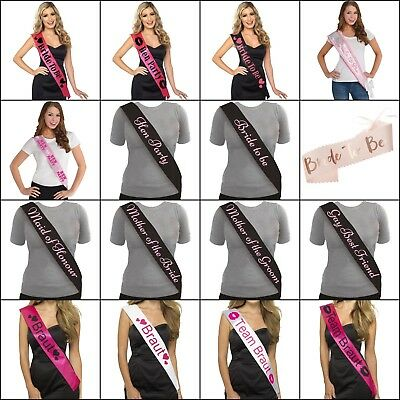 Hen Party Sashes, Night, Fun, Bride, Party, Gift, Supplies, Celebration, Girls