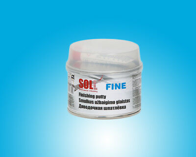 SOLL FINE finishing putty for small areas easy to grind 0.5kg/17.64oz