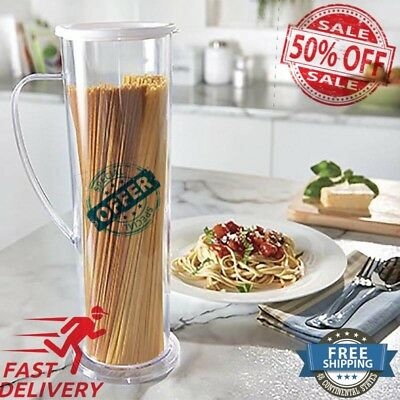 New Pasta Express Cooks Spaghetti Maker Pasta Cook Tube Container Fast Easy