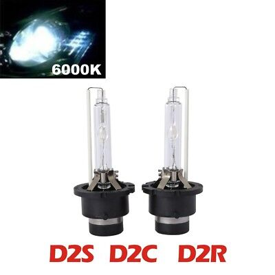 2X D2C D2S D2R  35W  Car Xenon High Quality Hid Bulbs Replacement White 6000k AU