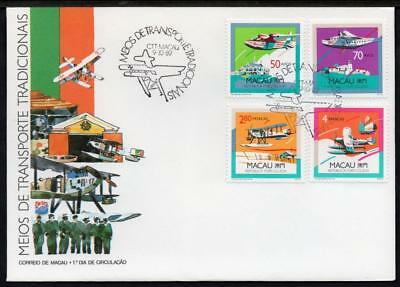 MACA0 1989 Aircraft First Day Cover