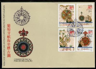 MACA0 1990 Compass Roses First Day Cover