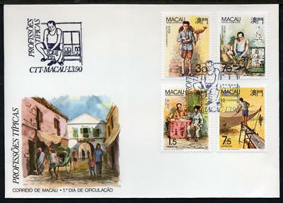 MACA0 1990 Traditional Occupations First Day Cover