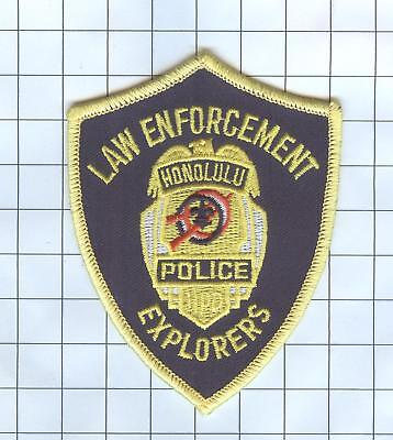 Police Patch  - Hawaii - Law Enforcement Honolulu Explorers