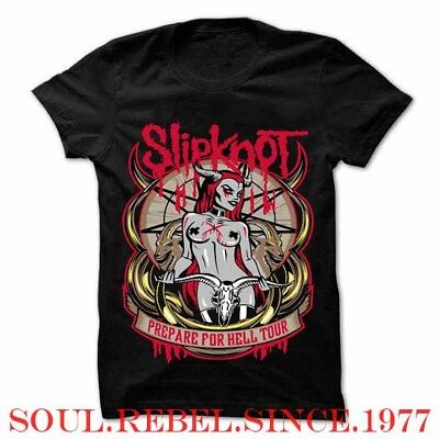 Slipknot Prepare To Hell Punk Rock Shirt Men's Sizes