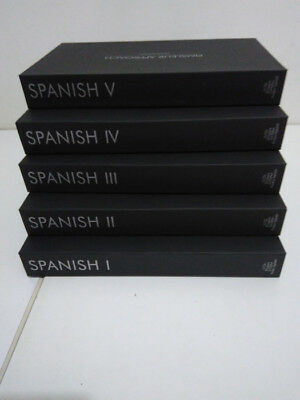 Pimsleur Approach Spanish Gold I II III IV V Levels 1 - 5 | 80 CD's Free Shippin