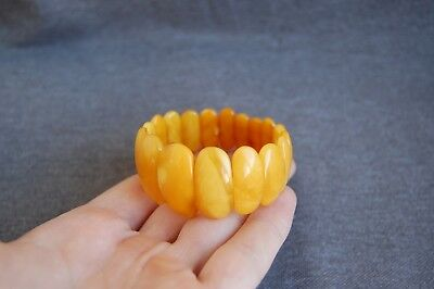 Antique Baltic amber bracelet