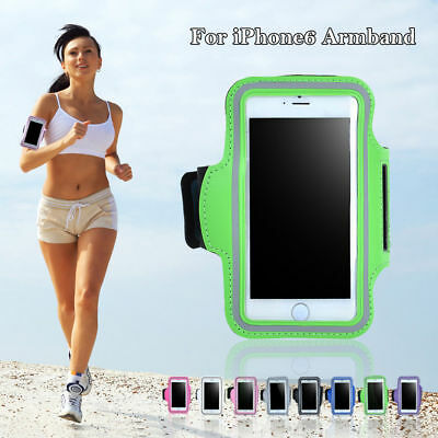 Gym Running Jogging Arm Band Sports Armband Case Holder Strap for Apple iPhone