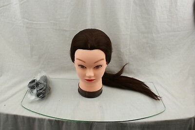 26-28 Mannequin Head Hair Styling Training Head Manikin Cosmetology 20Y19