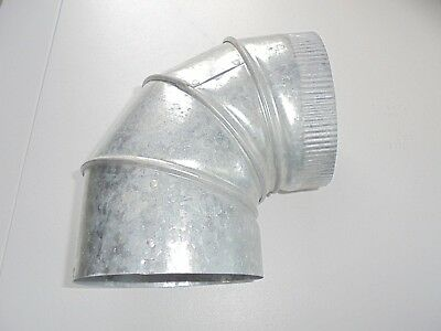 Galvanized Metal Elbow 90 Degree Duct HVAC 6 x 6 Heating & Cooling