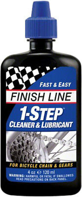 New Finish Line 1-Step Cleaner and Lubricant 4oz Drip