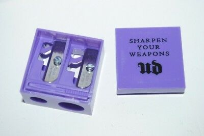 Urban Decay Sharpen Your Weapons Double Barrel Sharpener New Authentic Free Ship
