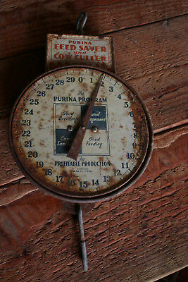 Vintage Purina Scale - All Original Feed Saver Cow Culler