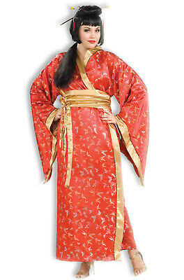 Brand New Japanese Geisha Madame Butterfly Plus Size Costume