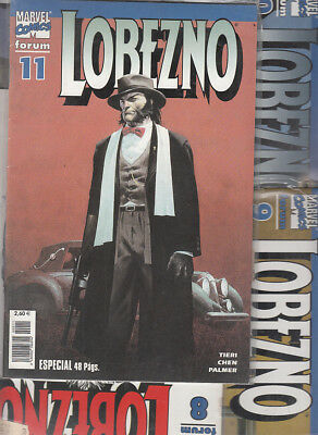 LOBEZNO  VOL. 3 ( LOTE  4  NUMEROS ) Nºs. 8. 9. 10. 11.   EDITORIAL FORUM.