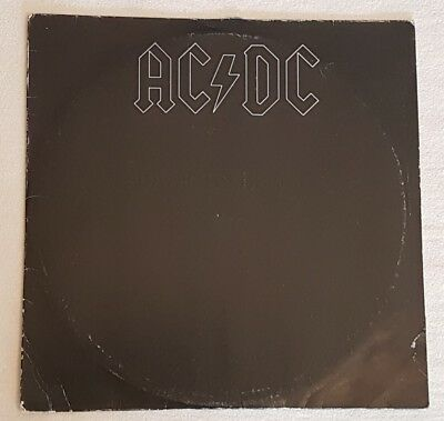 AC/DC - Back In Black / Atlantic ATL 50 735 / Germany 1980