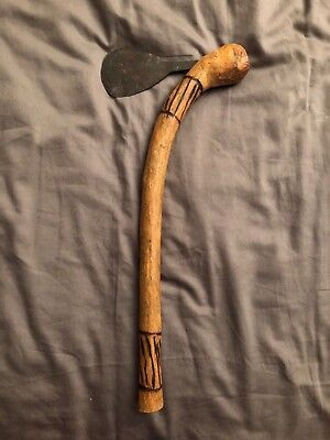 Namibian Axe, handmade wooden, collectors item, rare - South Africa