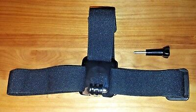 Insignia Head Mount For Go Pro's Lot Of Two Pieces Excellent Condition