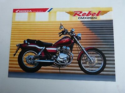 catalogue prospectus : HONDA rebel cmx 250c de 1995