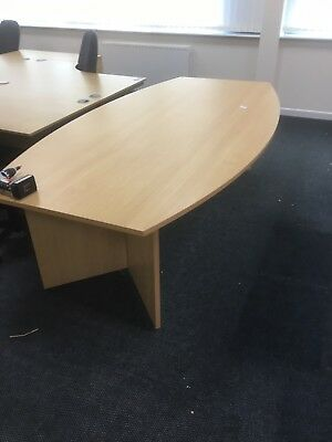 2 Part boardroom table 3200mm x 1200mm