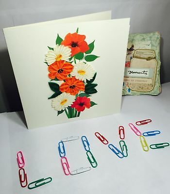 Flower - Quilling Card - QL321