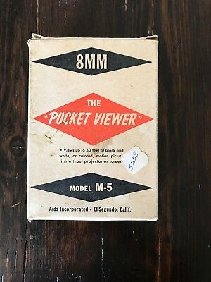8mm POCKET VIEWER MODEL M-5