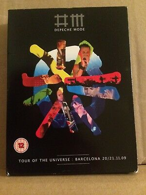 Depeche Mode 2 DVD ONLY Tour Of The Universe Barcelona 20/21.11.09 EMI - NO CDs