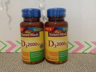 96485040350 NATURE MADE VITAMIN D3 2000 IU