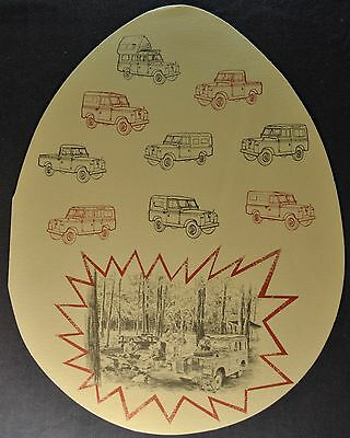 1964 Land Rover 88 Station Wagon Sales Brochure Folder 4x4 Excellent Original 64