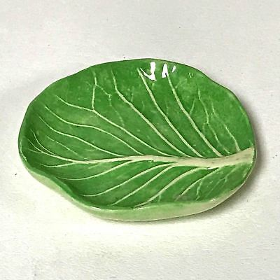 Dodie Thayer Cabbage Porcelain Miniature Plate Butter Pats (2 available)