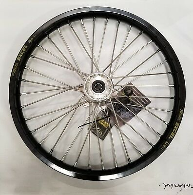 Haan Front Wheel YZ/YZF 93-09 Black-Silver