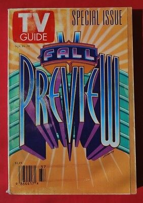 Fall Preview TV Guide Special Issue September 14-20,1996