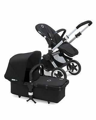 Bugaboo Buffalo Tailored Fabric Set - Black - Retails $119.99