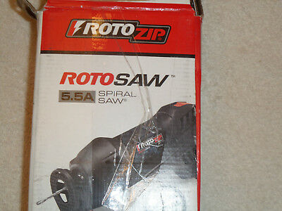 Rotozip Rotosaw SS355-10 5.5 Amp High Speed Spiral Saw System