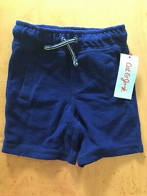 NWT Cat And Jack Shorts Blue Size 18 Months