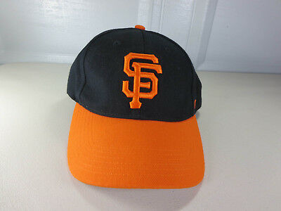 47 Brand mens San Francisco Giants MLB strapback wool baseball hat cap EUC MINT