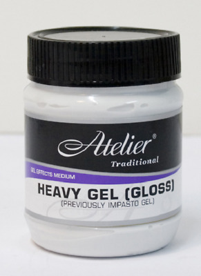 Atelier Interactive 'HEAVY GEL' Gloss Medium for Acrylic Paint (You choose)