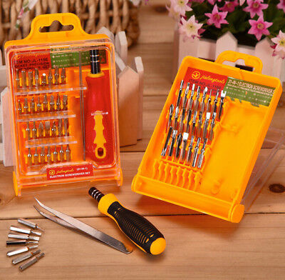 32 In 1 Precision Hardware Screw Driver Tool Sets Portable Screwdriver Kit